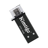 KIMTIGO OTG Flashdrive USB 3.0 16GB [KTH-305] - Black - Usb Flash Disk Dual Drive / Otg